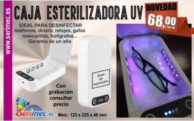 NOVEDAD MAYO: Caja Esterilizadora UV