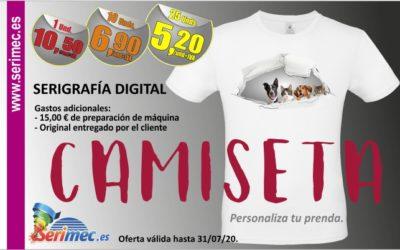 NOVEDAD DE JUNIO: Camiseta blanca impresa