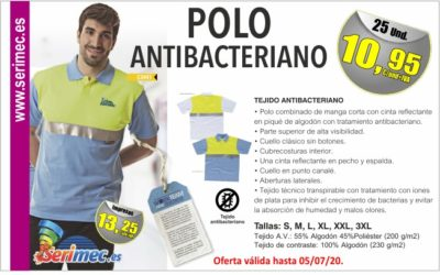 POLO ANTIBACTERIANO