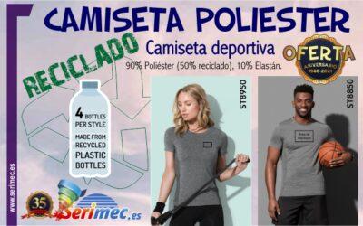 CAMISETA REALIZADA CON MATERIAL RECICLADO