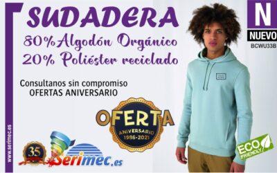 SUDADERA DE ALGODÓN ORGÁNICO