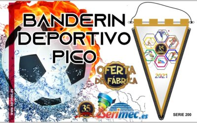 BANDERIN MODELO DEPORTIVO