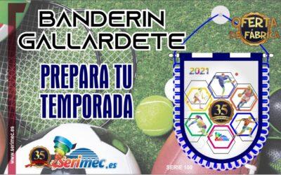 BANDERÍN GALLARDETE