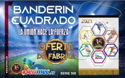 BANDERIN CUADRADO