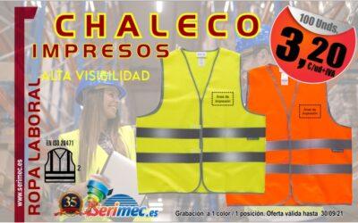 CHALECO DE ALTA VISIBILIDAD